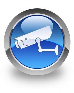 Icone caméra de sécurité