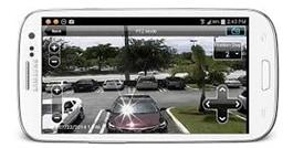 Camera de surveillance pour téléphone intelligent